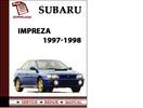 Thumbnail Subaru Impreza 1997 1998 Workshop Service Repair Manual Pdf Download
