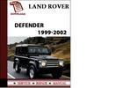 Thumbnail Land Rover Defender 1999 2000 2001 2002 Workshop Service Repair Manual Pdf Download