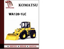 Thumbnail Komatsu WA120-1LC Wheel Loader Workshop Service Repair Manual Pdf Download Download