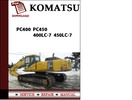 Thumbnail Komatsu PC400 PC450 400LC-7 450LC-7 Workshop Service Repair Manual Pdf Download