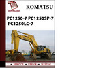 Thumbnail Komatsu PC1250-7 PC1250SP-7 PC1250LC-7 Workshop Service Repair Manual Pdf Download