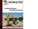 Thumbnail Komatsu PC100-6, PC120-6, PC120LC-6, PC130-6 Workshop Service Repair Manual Pdf Download