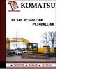 Thumbnail Komatsu PC 340  PC340LC-6k  PC340NLC-6k Workshop Service Repair Manual Pdf Download