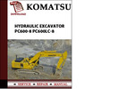 Thumbnail Komatsu Hydraulic Excavator PC600-8 PC600LC-8 Workshop Service Repair Manual Pdf Download Serial Number PC800-30001  PC800LC-30001