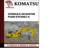 Thumbnail Komatsu Hydraulic Excavator PC600-8 PC600LC-8 Workshop Service Repair Manual Pdf Download