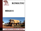 Thumbnail Komatsu HD325-5 Workshop Service Repair Manual Pdf Download