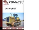 Thumbnail Komatsu D85A,E,P-21 Operation & Maintenance Manual Pdf Downl