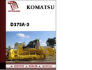 Thumbnail Komatsu D375A-3 Workshop Service Repair Manual Pdf Download