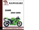 Thumbnail Kawasaki ZX6RR 2003 2004 2005 2006 Workshop Service Repair Manual Pdf Download