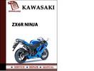 Thumbnail Kawasaki ZX6R Ninja Workshop Service Repair Manual Pdf Download