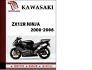 Thumbnail Kawasaki ZX12R Ninja 2000-2006 Workshop Service Repair Manual Pdf Download