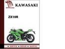 Thumbnail Kawasaki ZX10R Workshop Service Repair Manual Pdf Download