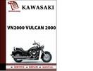 Thumbnail Kawasaki VN2000 Vulcan 2000 Workshop Service Repair Manual Pdf Download