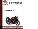 Thumbnail Kawasaki 250R Ninja Workshop Service Repair Manual Pdf Download