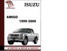 Thumbnail Isuzu Amigo 1999 2000 Workshop Service Repair Manual Pdf Download