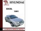 Thumbnail Hyundai Excel 1991 Workshop Service Repair Manual Pdf Download