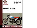 Thumbnail BMW R80GS  R100R Workshop Service Manual Repair Manual Download