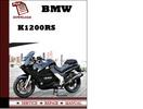 Thumbnail BMW K1200RS Workshop Service Manual Repair Manual Download