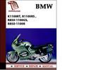 Thumbnail BMW K1100RT, R1100RS ,R850-1100GS, R850-1100R Workshop Service Manual Repair Manual Download
