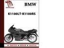 Thumbnail BMW K1100LT K1100RS Workshop Service Manual Repair Manual Download