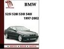 Thumbnail BMW ( E39 ) 5 Series 525i 528i 530i 540i Sedan Sport Wagon 1997-2002 Workshop Service Repair Manual Pdf Download