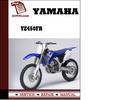 Thumbnail Yamaha YZ450FR Workshop Service Repair Manual Pdf Download
