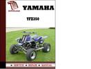 Thumbnail Yamaha YFZ350 Workshop Service Repair Manuals Pdf Download