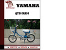 Thumbnail Yamaha Qt50 MA50 Workshop Service Repair Manual Pdf Download