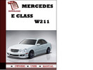 Thumbnail Mercedes E Class W211 Owners Manual User Manual Pdf Download