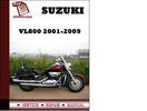 Thumbnail Suzuki VL800 2001 2002 2003 2004 2005 2006 2007 2008 2009 Workshop Service Repair Manual Pdf Download