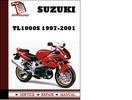 Thumbnail Suzuki TL1000S 1997 1998 1999 2000 2001 Workshop Service Repair Manual Pdf Download