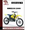 Thumbnail Suzuki RMZ250 2009 Workshop Service Repair Manual Pdf Download