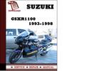 Thumbnail Suzuki GSXR1100 1993 1994 1995 1996 1997 1998 Workshop Service Repair Manual Pdf Download