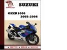 Thumbnail Suzuki GSXR1000 2005 2006 Workshop Service Repair Manual Pdf Download