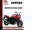 Thumbnail Suzuki GSF650 2008 2009 Workshop Service Repair Manual Pdf Download