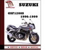Thumbnail Suzuki GSF1200S 1996 1997 1998 1999 Workshop Service Repair Manual Pdf Download