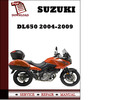 Thumbnail Suzuki DL650 2005 2006 2007 2008 2009 Workshop Service Repair Manual Pdf Download