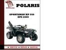 Thumbnail Polaris Sportsman XP 550 EPS 2009 Workshop Service Repair Manual Pdf Download