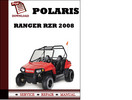 Thumbnail Polaris Ranger RZR 2008 Workshop Service Repair Manual Pdf Download