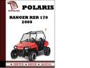 Thumbnail Polaris Ranger RZR 170 2009 Workshop Service Repair Manual Pdf Download