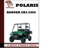 Thumbnail Polaris Ranger 2x4 2009 Workshop Service Repair Manual Pdf Download