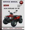 Thumbnail Aeon Overland 125 180 Factory Service Repair Manual Download Pdf
