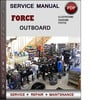 Thumbnail Force Outboard 120 hp 120hp 4 cyl 2-stroke 1990-1999 Factory Service Repair Manual Download Pdf