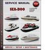 Thumbnail Sea-Doo GTX 5863 XP 5857 1995 Factory Service Repair Manual Download Pdf