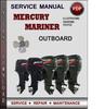 Thumbnail Mercury Mariner Outboard 4 5 6 HP 4-stroke Factory Service Repair Manual Download Pdf