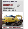 Thumbnail Komatsu PC450-7 PC450LC-7 Serial 20001 and up Factory Service Repair Manual Download Pdf
