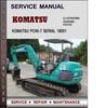Thumbnail Komatsu PC40-7 Serial 18001 and up Factory Service Repair Manual Download Pdf