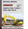 Thumbnail Komatsu PC350-7 PC350LC-7 Serial 20001 AND UP Factory Service Repair Manual Download Pdf
