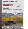Thumbnail Komatsu PC340-6K Serial K32001 and up, K34001 and up Service Repair Manual Download Pdf