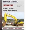 Thumbnail Komatsu PC300-7 PC300LC-7  Serial 40001 AND UP Factory Service Repair Manual Download Pdf
